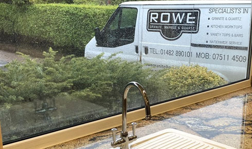 About Rowe Granite & Quartz Kitchen Worktops