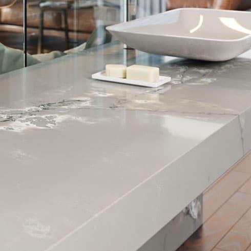 Quartz Kitchen Worktop from Compac
