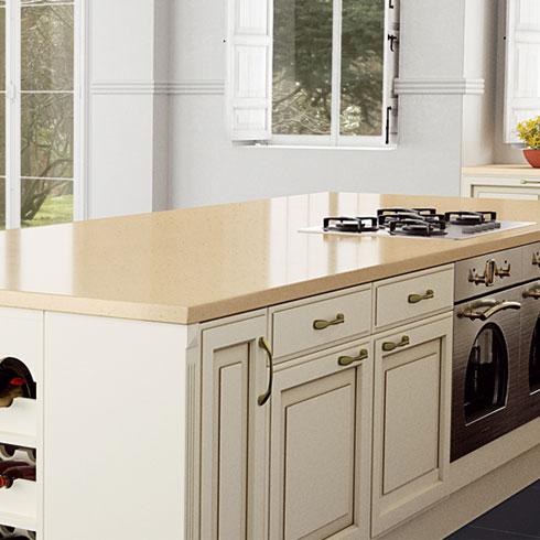 Compac Quartz Kitchen Worktops