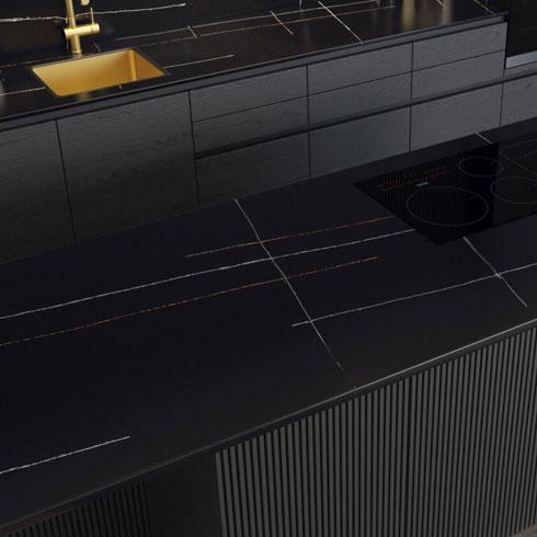 Quartzforms - Halley Quartz Kitchen Worktop