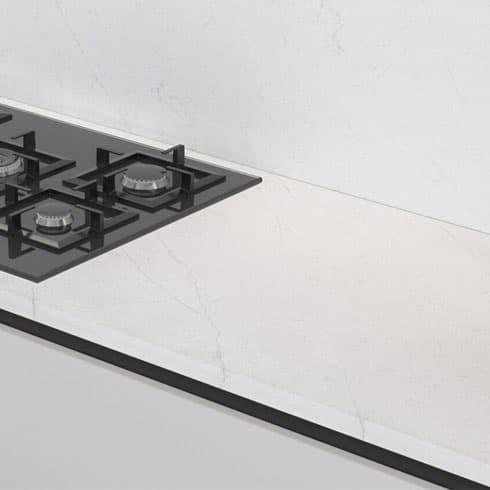Quartz Kitchen Worktop - Interstellar Cloud Quartzforms